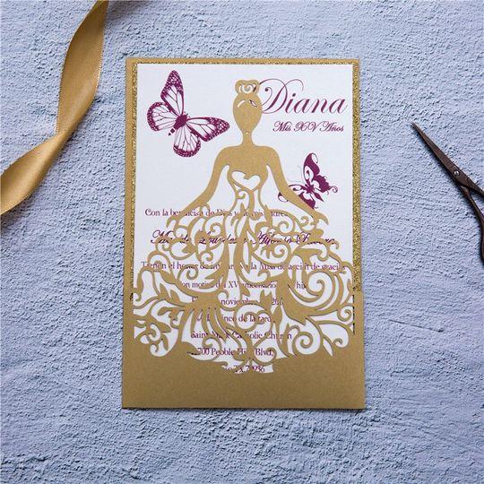 Lovely Glitter Paper Dancing G