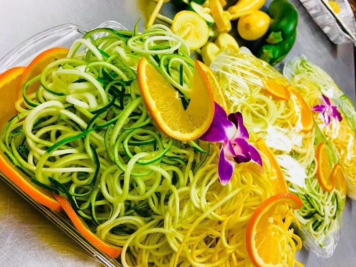 Zucchini and Squash noodles