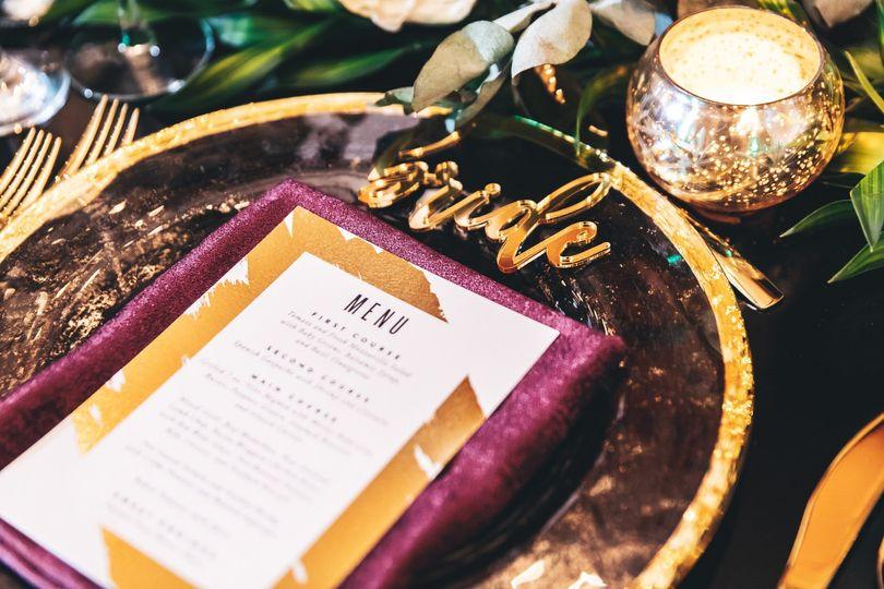 Bride Place Card