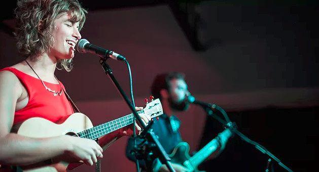 Micah & Lauren Gilliam singing