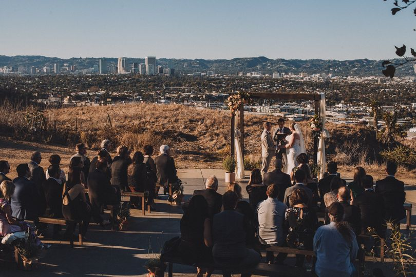 Beautiful ceremony views