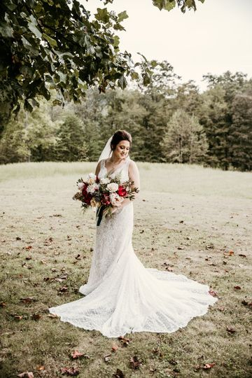 What a beautiful bride!