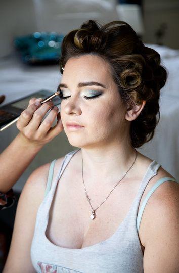 Skincare, Make-Up, and Updo