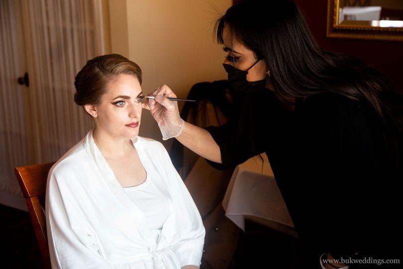 Behind the Scenes: Hair/Makeup