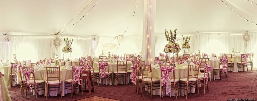Pink reception theme