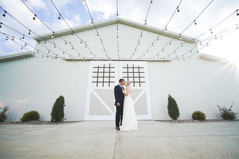 A big barn wedding