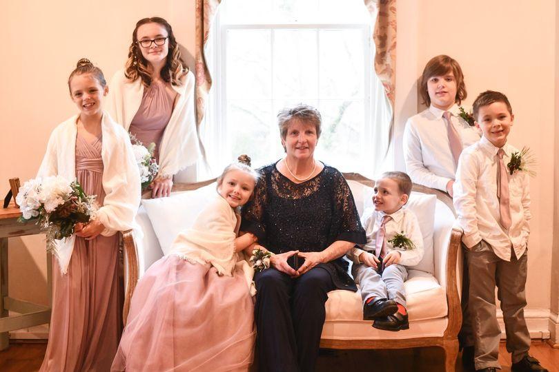 Photos with grandma