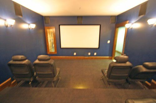 Custom Movie Theater Room