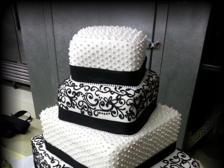 Tmx 1440104755825 Lace Mount Kisco wedding cake