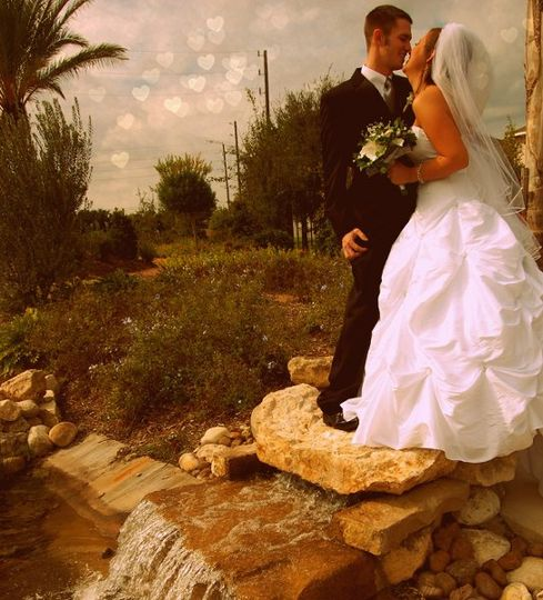 bridegroomheartbokeh