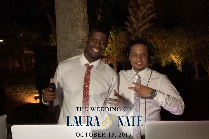 Dual DJ combo for wedding