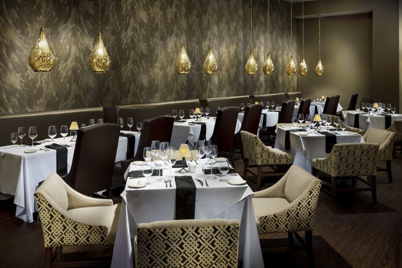 Seared fine dining room