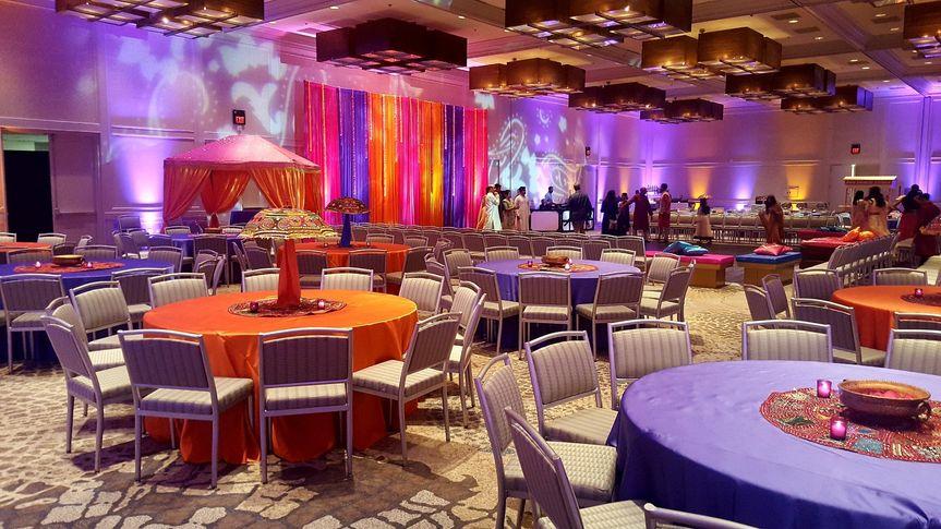 Grand Ballroom, sangeet