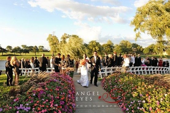 Ceremony, Pavilion lawn