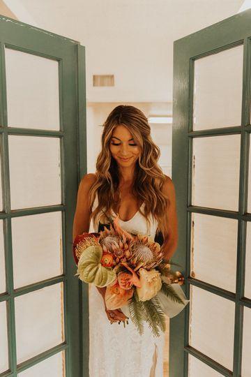 Bridal look | Photographer: Nicole Kirshner