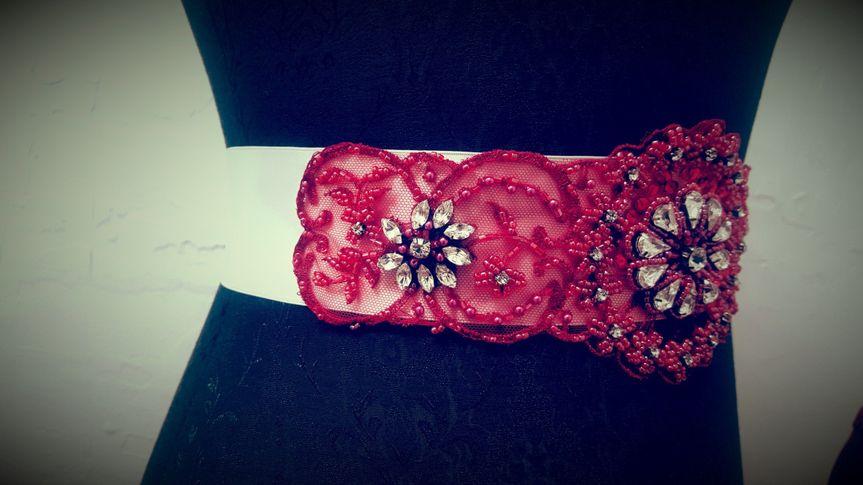 Bridal belt accessories