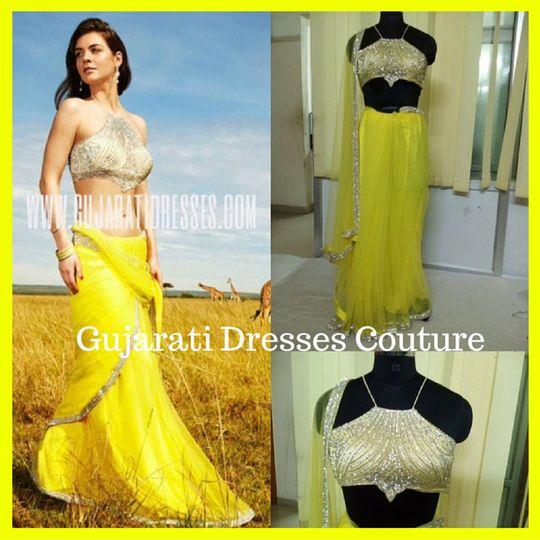 gujarati dresses couture 1