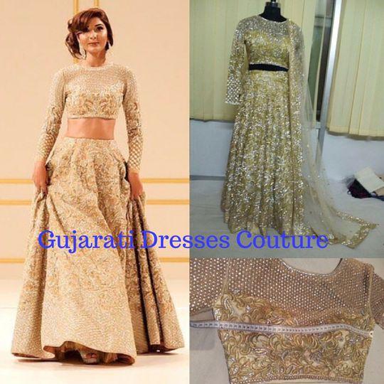gujarati dresses couture