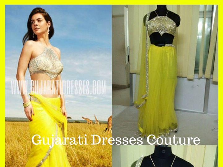 Tmx 1465826193078 Gujarati Dresses Couture 1 Rochester wedding dress