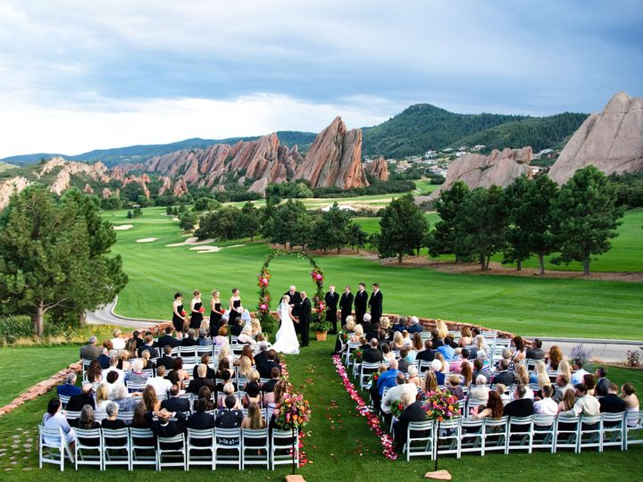 Tmx 1378487820148 Dave Russell Ceremony Shot Littleton, CO wedding venue