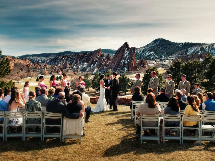 Tmx 1378489619393 Outdoor Winter Ceremony Littleton, CO wedding venue
