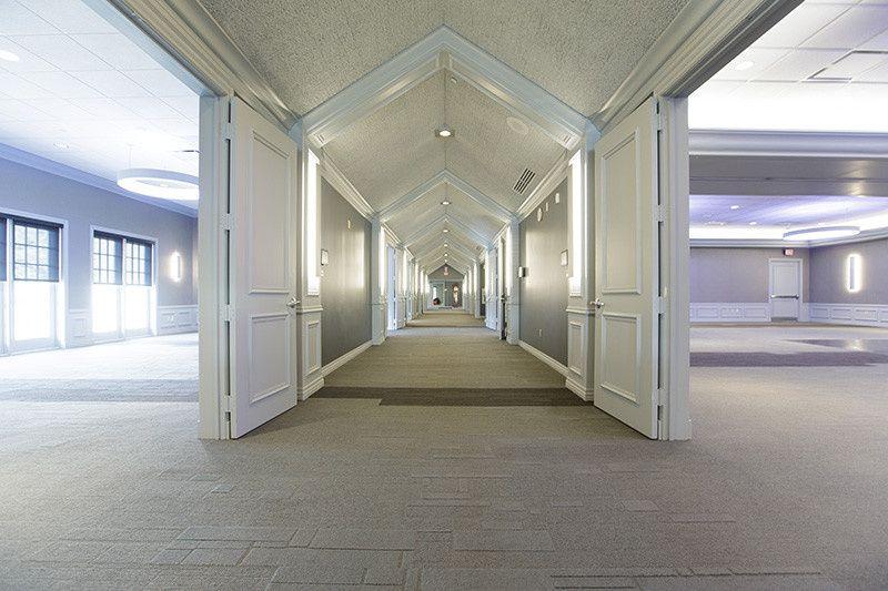 An elegant entryway