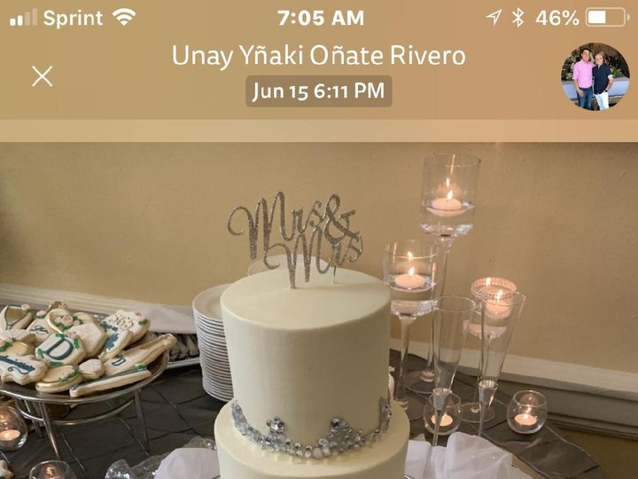 Tmx Dean 1 Year Anniversary 6 19 2019 Cake 51 923335 1561402143 Hitchcock, TX wedding florist