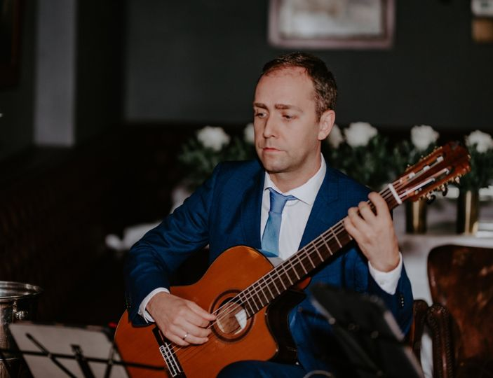 Damien at a recent wedding