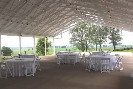 Pavilion is wedding white, a blank canvas for you to convert into the wedding of your dreams!