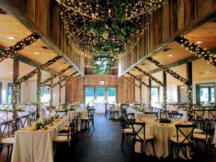 Reception design and decor