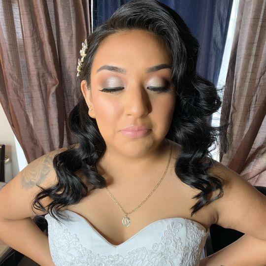 Soft traditional bride