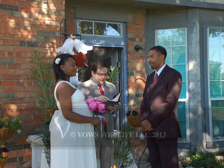 Tmx 1383719657332 Leshundr Grand Prairie wedding officiant