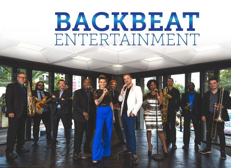 12 piece Backbeat Band!