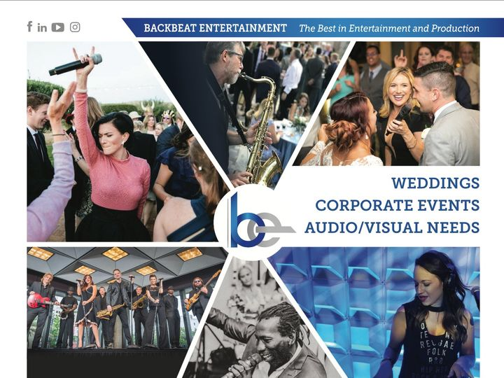 Tmx Backbeat Avie Ad 2020 Png 51 1446335 158992215238041 Orlando, FL wedding band