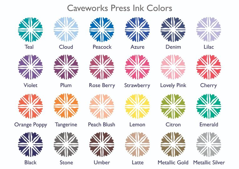 Caveworks Ink colors