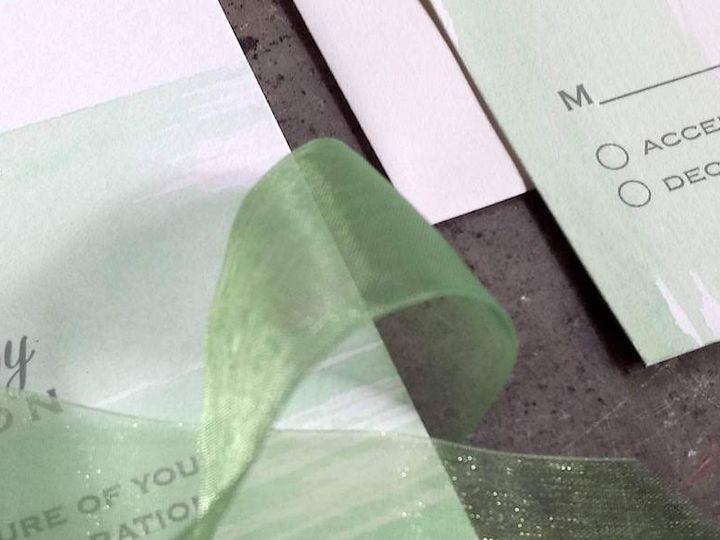 Tmx Green Water Tie Fpr Sliider 51 1066335 1557953430 Reinbeck, IA wedding invitation