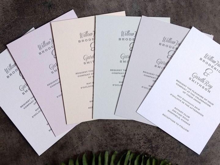 Tmx Paper Colors Crop 51 1066335 1557958881 Reinbeck, IA wedding invitation