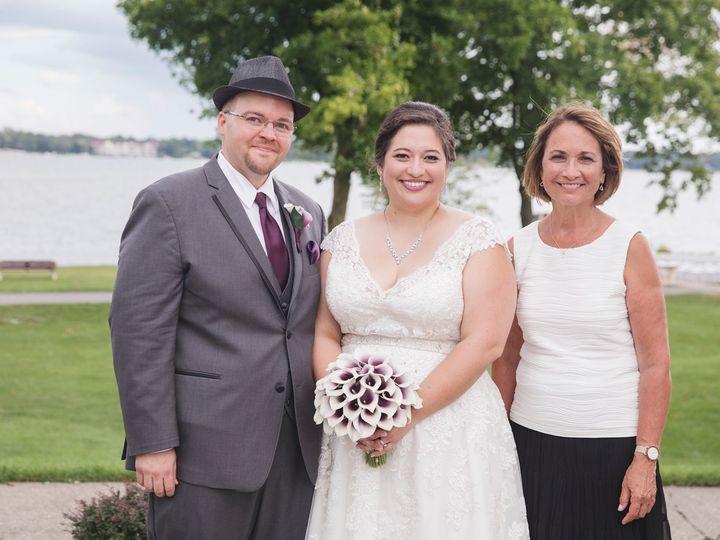 Tmx Amanda And Westin With Joan 51 1018335 160768914586665 Racine, WI wedding officiant