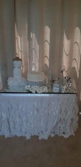 Wedding Shower Cake Table