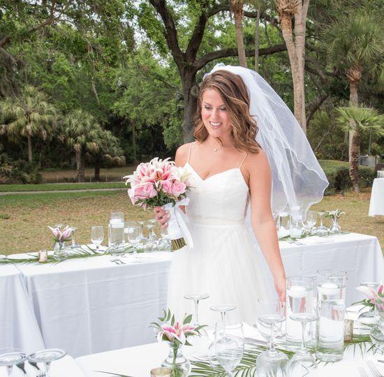 Bride at Powel Crosley