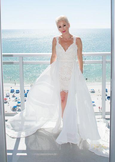 Bride at Wyndham Grand CLWB