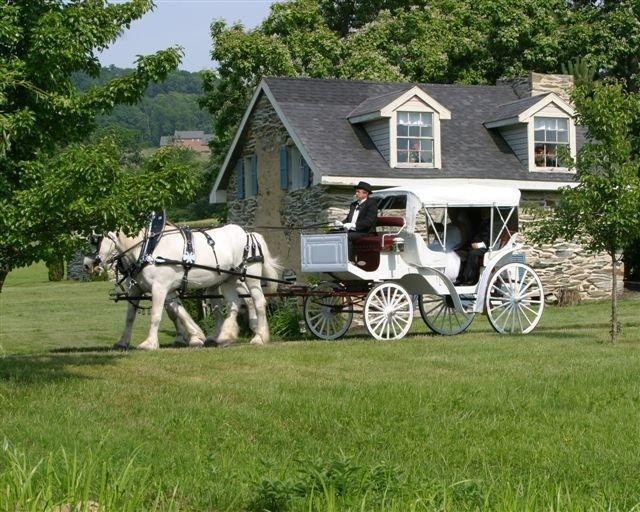 Tmx 1510407314067 Horse And Carriage Front Of Stone House Myersville, District Of Columbia wedding venue
