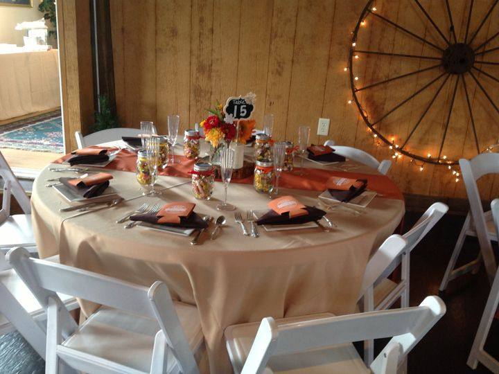 Tmx 1510407386559 Tan Tables With Upgraded Chairs Myersville, District Of Columbia wedding venue