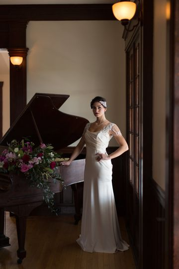 Fashion shoot for Real Maine Weddings magazine