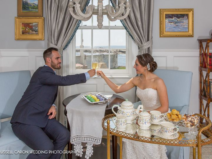 Tmx 1499901409887 Bride And Groom Toasting Each Other Rockland wedding beauty