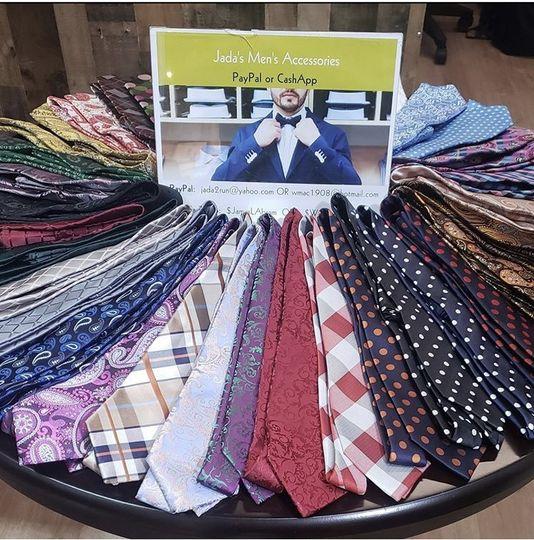 Table of ties