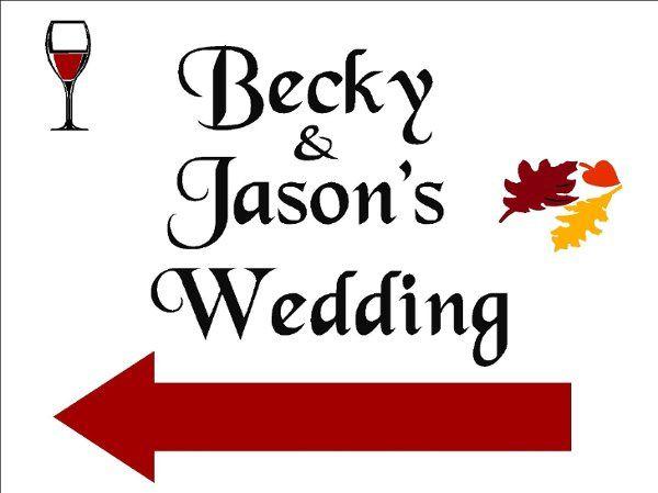 Tmx 1196351136233 Becky%26JasonWeddingSign Saint Bonifacius wedding invitation