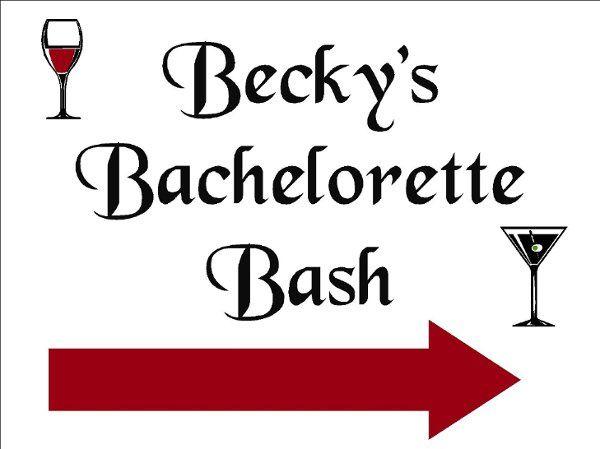 Tmx 1196351184217 Becky%27sBacheloretteSign Saint Bonifacius wedding invitation
