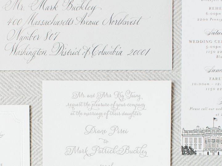 Tmx 1510628280794 Mark Diane June 10 11 2016 3 Getting Ready 0003 Arlington wedding invitation