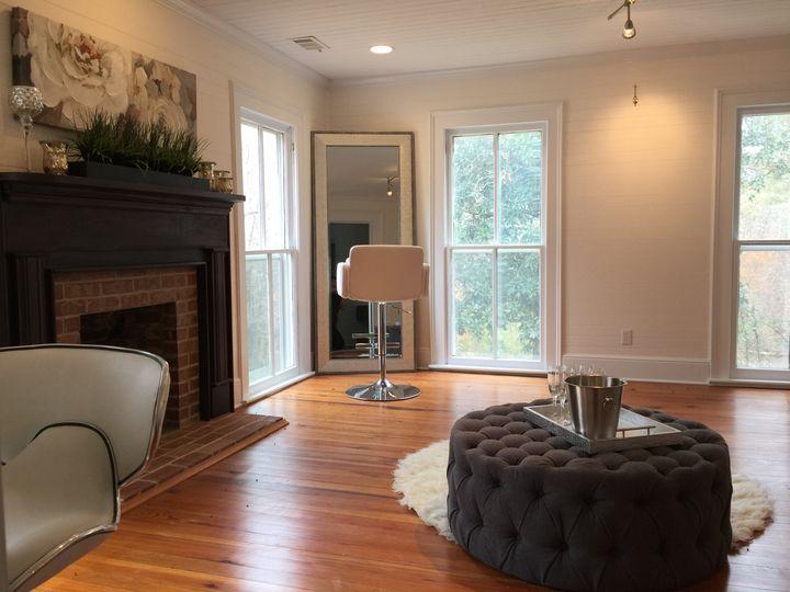 Bridal living room
